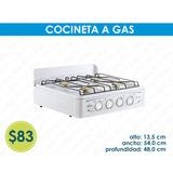 Cocineta A Gas - 1 Año De Garantía