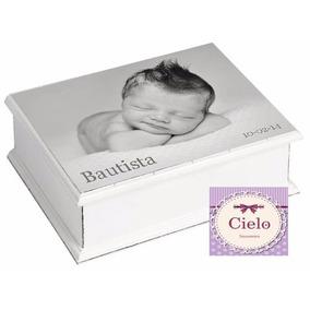 Souvenirs Varón Cajitas Bautismo Nacimiento Primer Año 1 Año