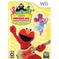 Barrio Sésamo: Elmo Musical Monsterpiece - Nintendo Wii