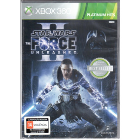 Star Wars Force Unleashed 2 Xbox 360 Mídia Física Lacrado