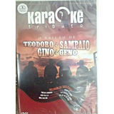 Karaoke Teodoro Sampaio E Gino E Geno Coletanêa Karaokê Dvd
