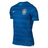 Top Camisa Da Seleção Brasil Azul Copa De 2014 Frete Grátis