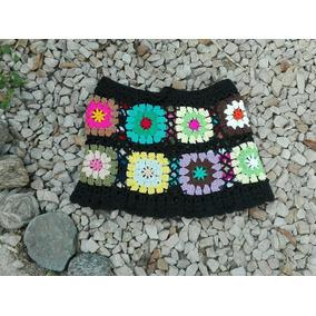 Pollera De Hilo Tejida A Crochet