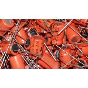 Capacitores Electroliticos Siemens 100uf X 16v,lote X 100 U.