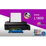 Impresora Epson L1800 Formato A3 Fotográfico De Fabrica