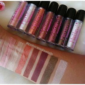 4 Pigmento Sombra Mahav Lindas Cores Kit