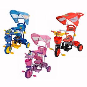 Triciclo Bebe Disney Cars- Princesas- Toy Story Nene / Nena