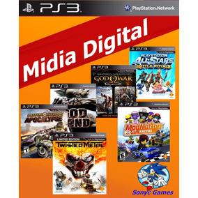 Ps3 Combo De Jogos Midia Digital Psn