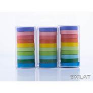 Washi Tape Adhesiva Papel X 10  En Cajita !!