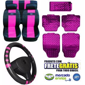 Ford Ka Kit Rosa Pink Capa Banco Kit De Tapetes Capa Volante