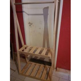 perchero de madera 80x150 - Percheros De Madera