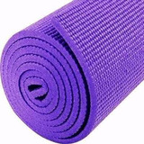 Colchoneta Mat Yoga Pilates Fitness Enrollable Gym Matt