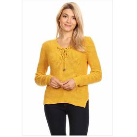 Sweater Knit Con Detalle Zig Zag Mayoreo Crea Tu Negocio