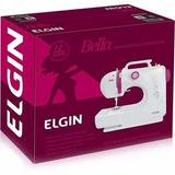 Máquina De Costura Portatil Elgin Bella 06 Pontos E Zig Zag