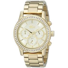 Lacoste 2000835 Charlotte Dorado Del Reloj Envío Gratis