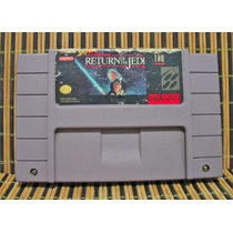 Super Star Wars Return Of The Jedi - Snes Accion Plataformas