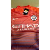 Camiseta Nike Del Manchester City 3rd Player Version. Nueva