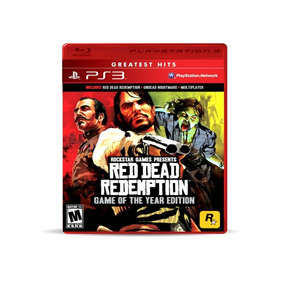 Red Dead Redemption Juego Ps3 Fisico Nuevo Game Of The Year