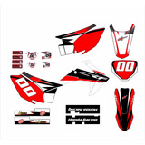 Kit Adesivo Moto Cross Trilha Honda Crf230 2015 Mt003