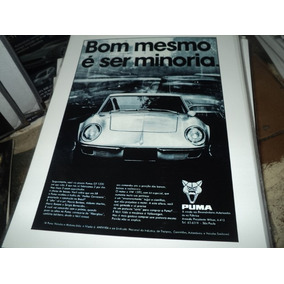 Puma Gt Poster 34cm X 26cm