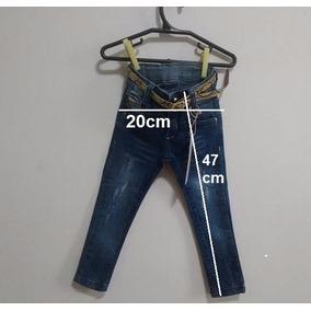 Calça Jeans Infantil! De 6 A 18 Meses!
