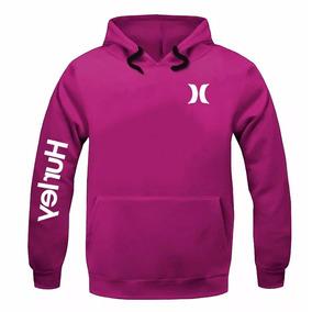 Promoção Moletom Hurley Masculino Feminino Blusa De Frio