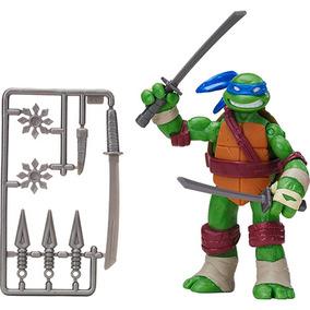 Boneco Tartarugas Ninja - Figura De Ação 12cm - Leonardo