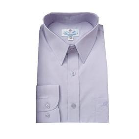 Camisa De Vestir Para Hombre Color Lila.