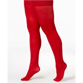 Medias Cancan Medibacha Panty Nenas Rojo