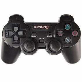Controle Playstation 2 Dual Shock2 Ps2 Paralelo Preto