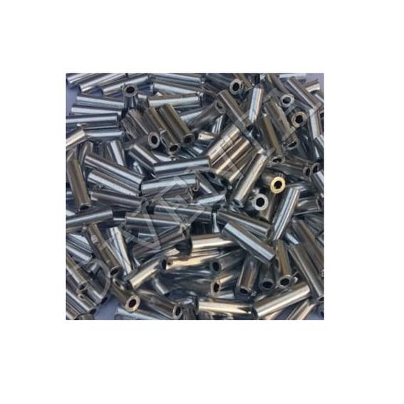 Tubitos De Aluminio Para Armar Lider De Pesca