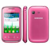 Funcionando Oportunidad Samsung Pocket Rosa, Para Personal