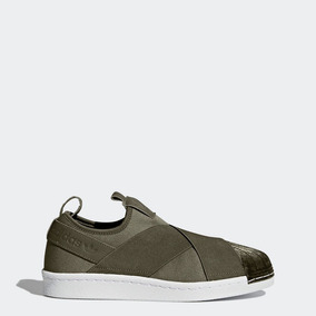 Tenis adidas Superstar Slip-on Mujer Bb2120 Look Trendy