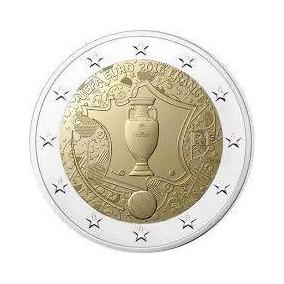 Moeda De 2 Euros Comemorativa França 2016 - Eurocopa 2016