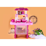 Kids Simulation Kitchen Cookware Pretend Role Play Toy With
