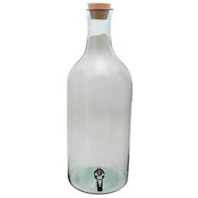 Garrafao De Vidro 15 Litros C/ Torneira /barril /tonel/