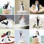 Wedding Cake Toppers Estatuilla Novia Novio Matrimonio