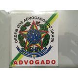 Adesivo Advogado Bacharel Em Direito - Frete R$ 7,00
