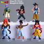 Dragon Ball Figuras Muñecos Set X 6 (goku Ssj4, Vegeta Ssj4)