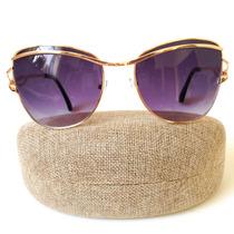 Óculos De Sol Feminino Quadrado Moda Verão Frete Uv 400