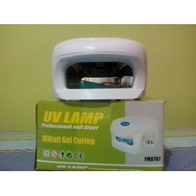 Lampara Ultravioleta Secador De Uñas De 18 Watt Profesional