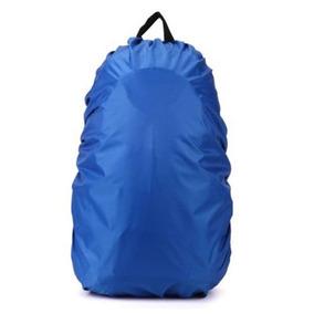 Capa Mochila Mala Impermeável Proteção Chuva Grande Azul