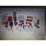 Taller Mecánico En Miniatura Garage Kit Set A Escala