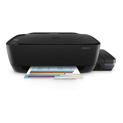 Impressora a cor multifuncional HP DeskJet GT 5820 com Wi-Fi 110V/220V preta