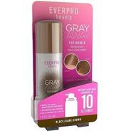 Everpro Beauty Gray Away For Women Cor: Black/dark Brown