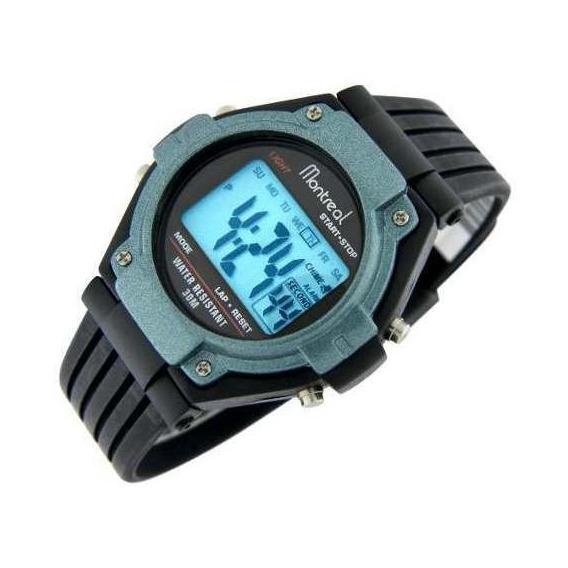 Reloj Montreal Hombre Ml619 Crono Alarma Sumerg Envío Gratis