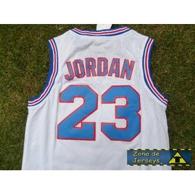 Jersey Basquetbol Space Jam Retro Blanca Michael Jordan 23