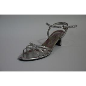 Sandalias De Dama Tacon Medio Talla 38