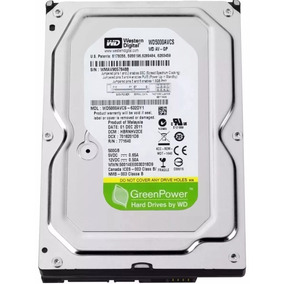 Hd Western Digital 500gb Sata 3gbs Pc 7200rpm