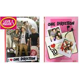 Promoção 2x1 Cadeno One Direction Brochura 96fls 1d Jandaia